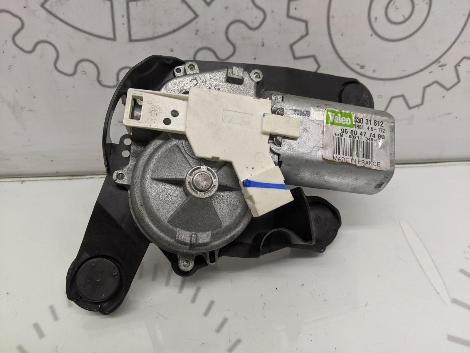 Моторчик заднего стеклоочистителя (дворника) Peugeot 308 T7 1.4 I 2010 (б/у)