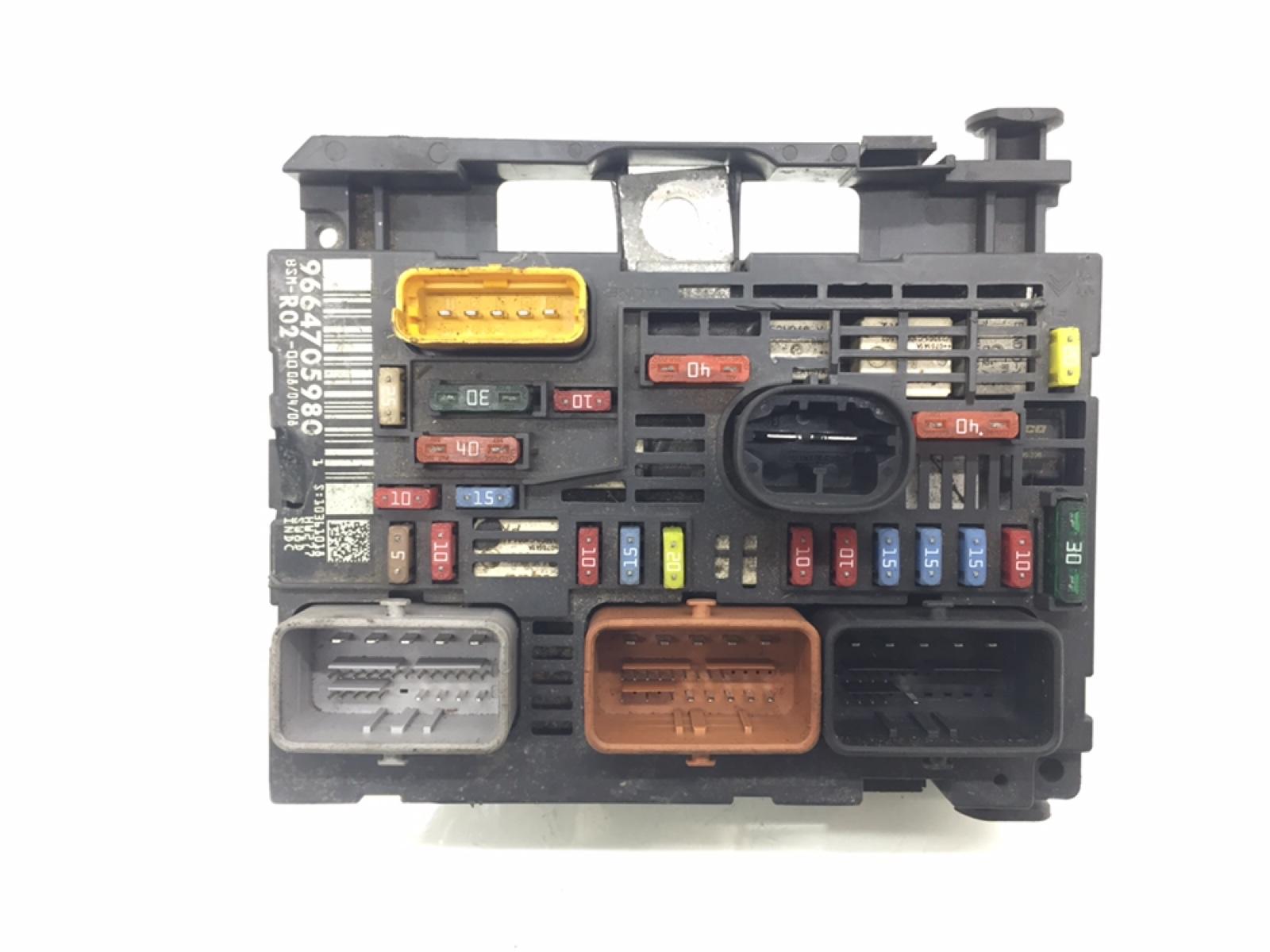 Блок предохранителей Citroen C5 1.6 HDI 2008 (б/у)