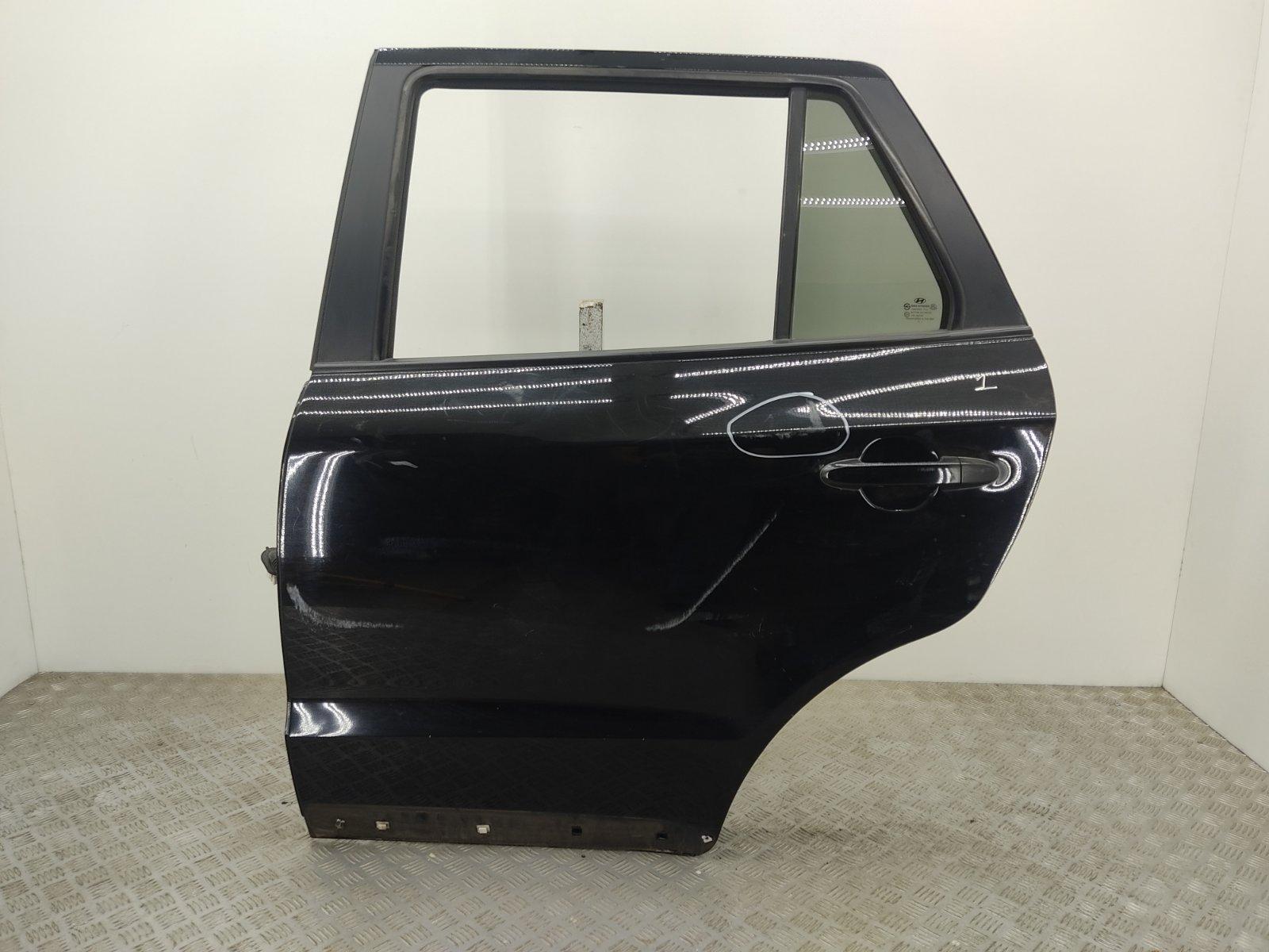 Дверь задняя левая Hyundai Santa Fe 2.2 CRDI 2007 (б/у)