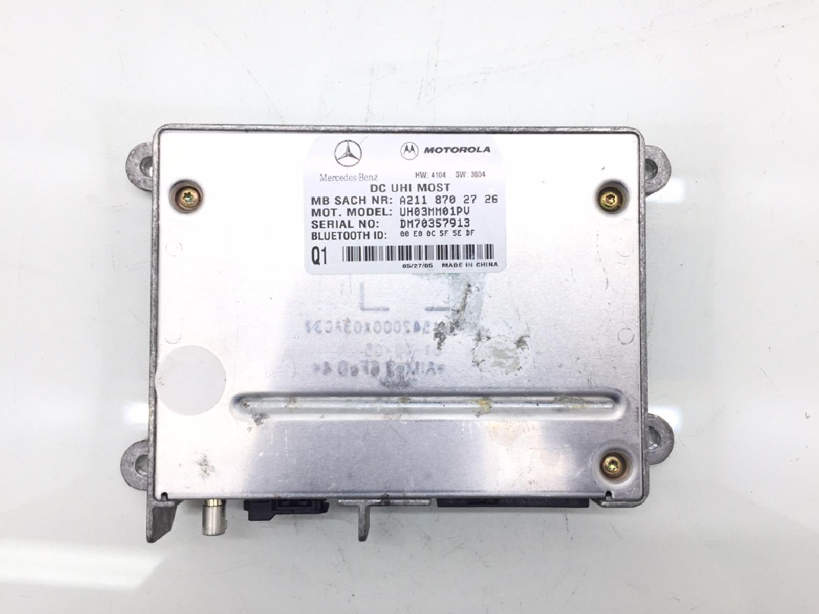 Блок управления телефоном Mercedes E W211 3.0 CDI 2005 (б/у)