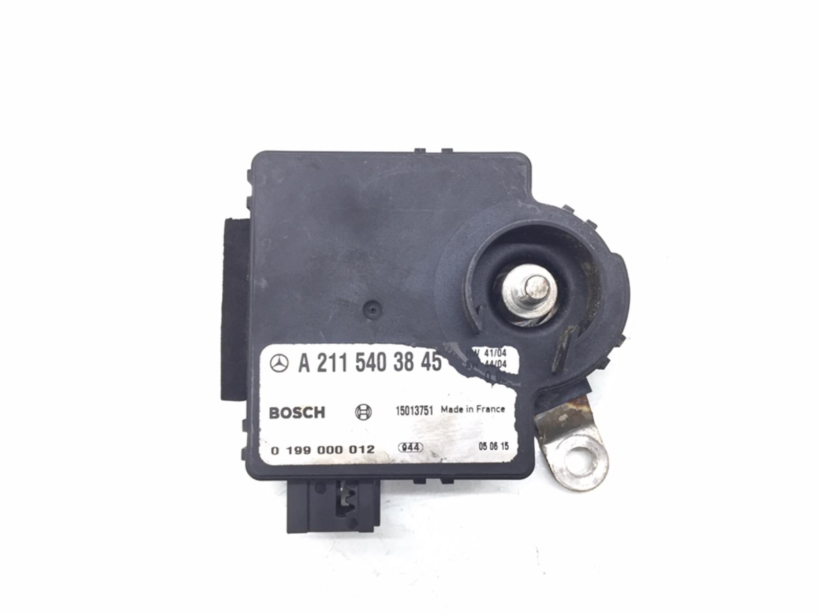 Блок управления аккумулятором (акб) Mercedes E W211 3.0 CDI 2005 (б/у)