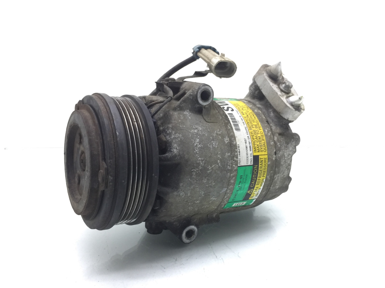 Компрессор кондиционера Opel Zafira A 1.6 I 2005 (б/у)