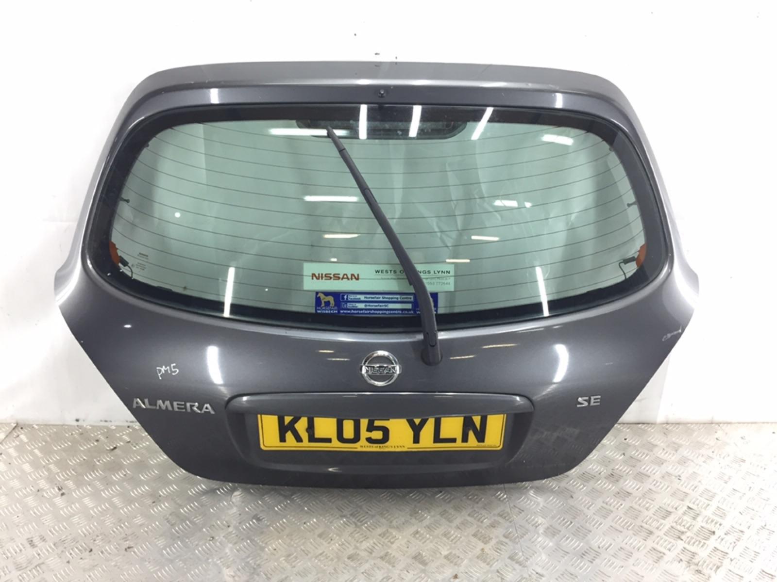 Крышка багажника Nissan Almera N16 1.8 I 2005 (б/у)