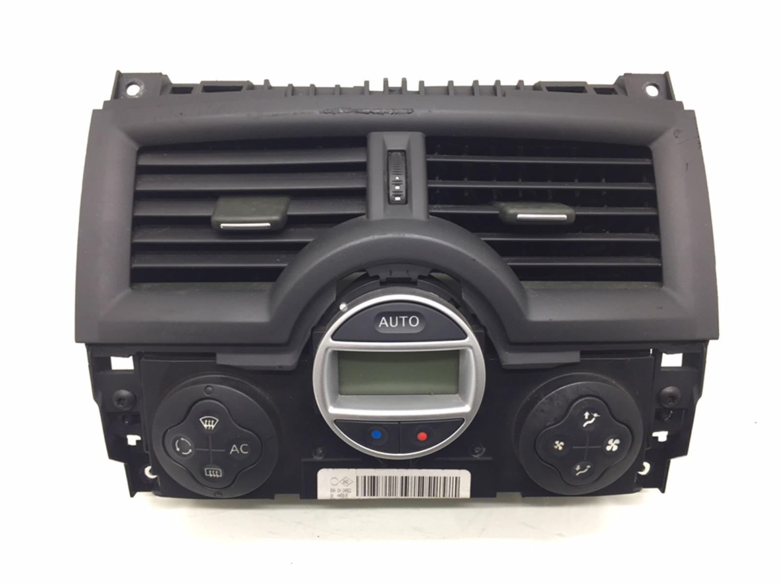 Блок управления печки/климат-контроля Renault Megane 1.6 I 2007 (б/у)