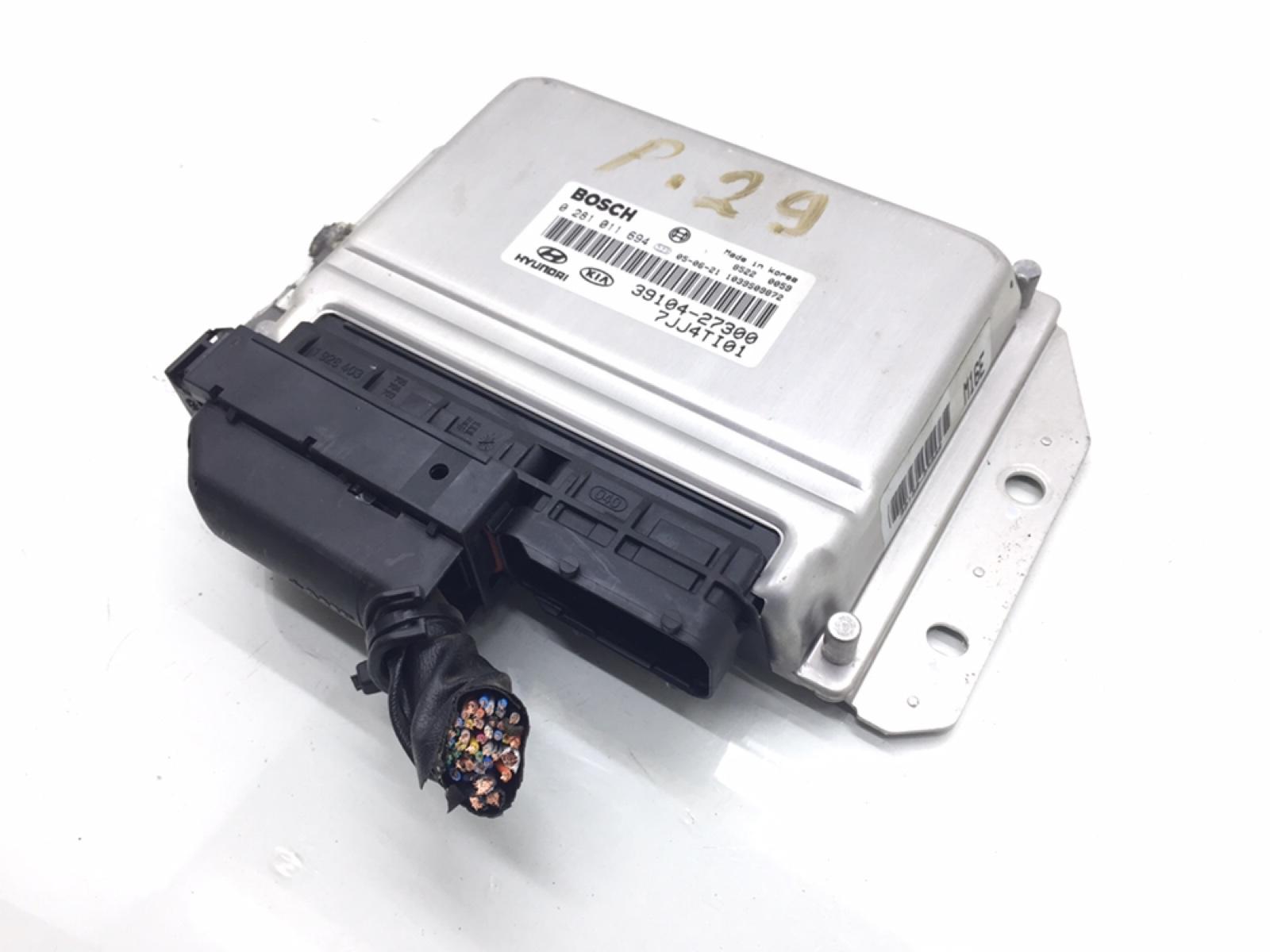 Блок управления двигателем Hyundai Tucson 2.0 CRDI 2005 (б/у)