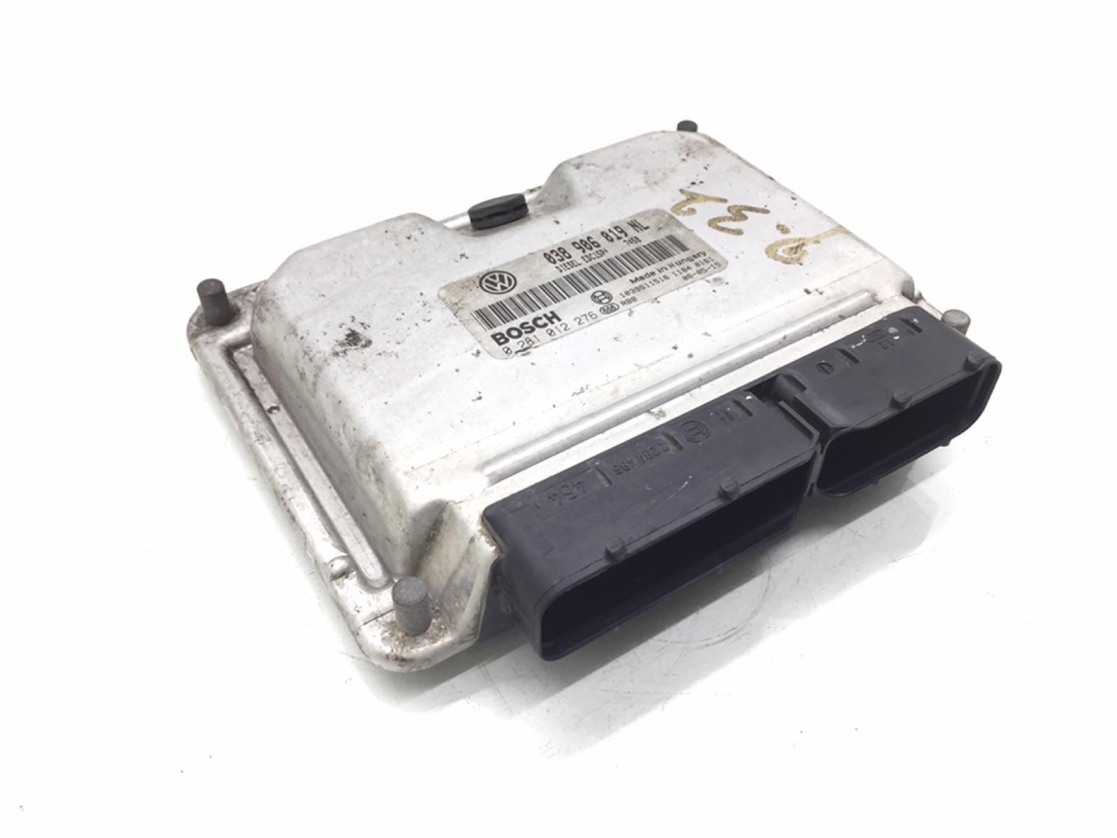 Блок управления двигателем Skoda Fabia 1.9 TDI 2006 (б/у)