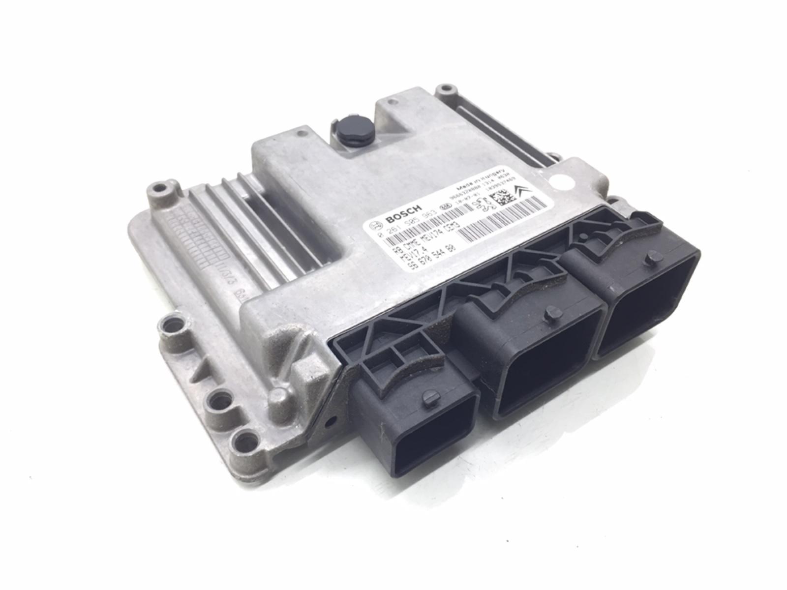Блок управления двигателем Citroen Ds3 1.6 I 2010 (б/у)