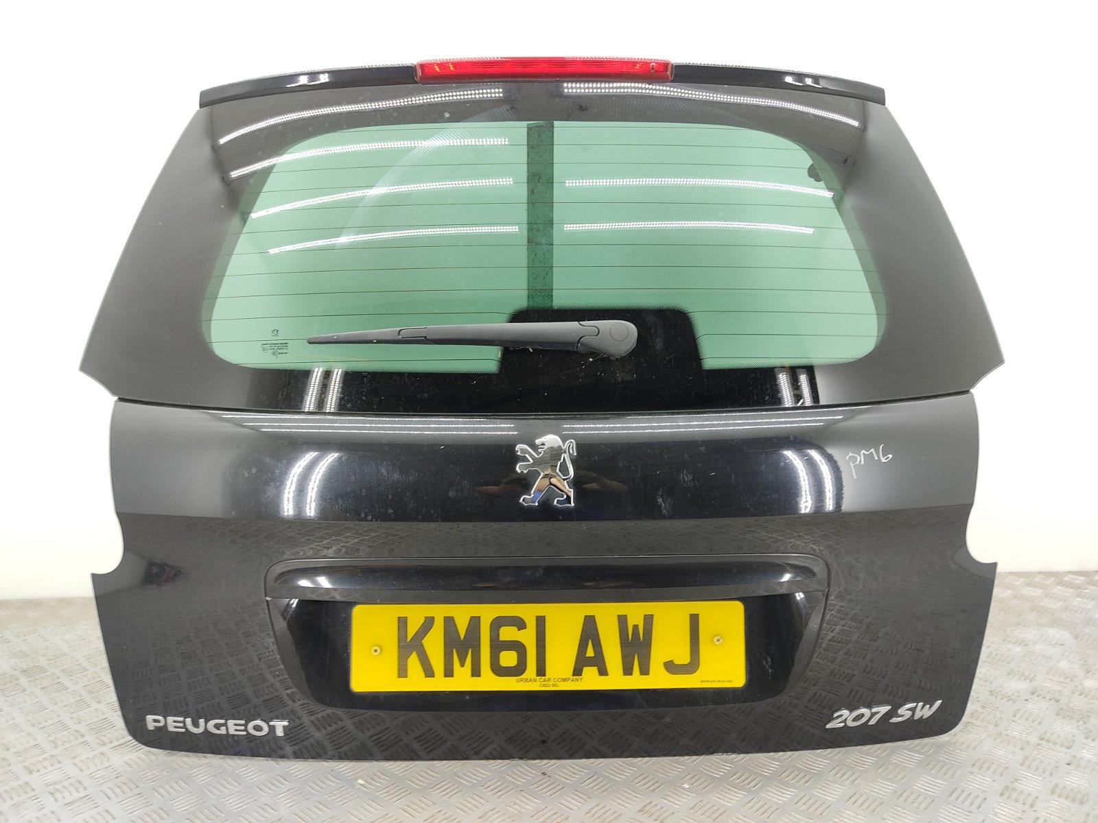 Крышка багажника Peugeot 207 1.6 HDI 2011 (б/у)