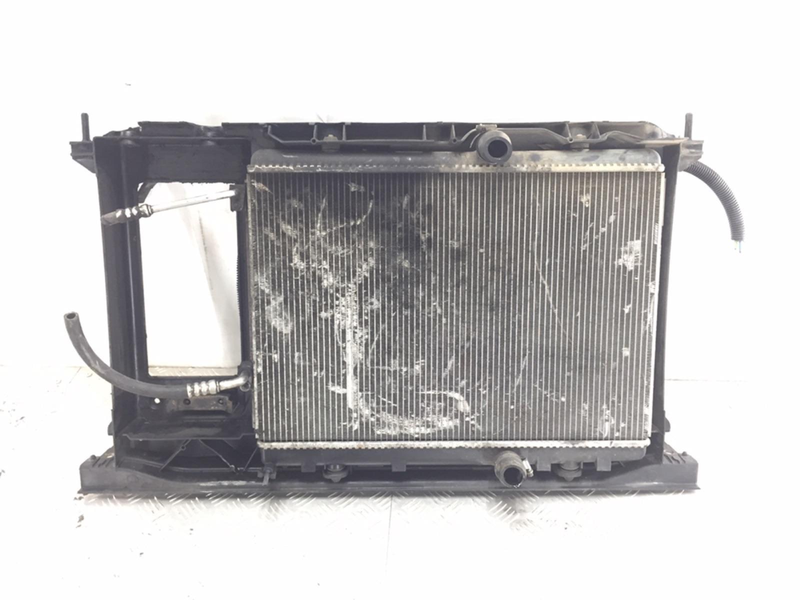 Кассета радиаторов Citroen C4 Grand Picasso 1.6 HDI 2007 (б/у)