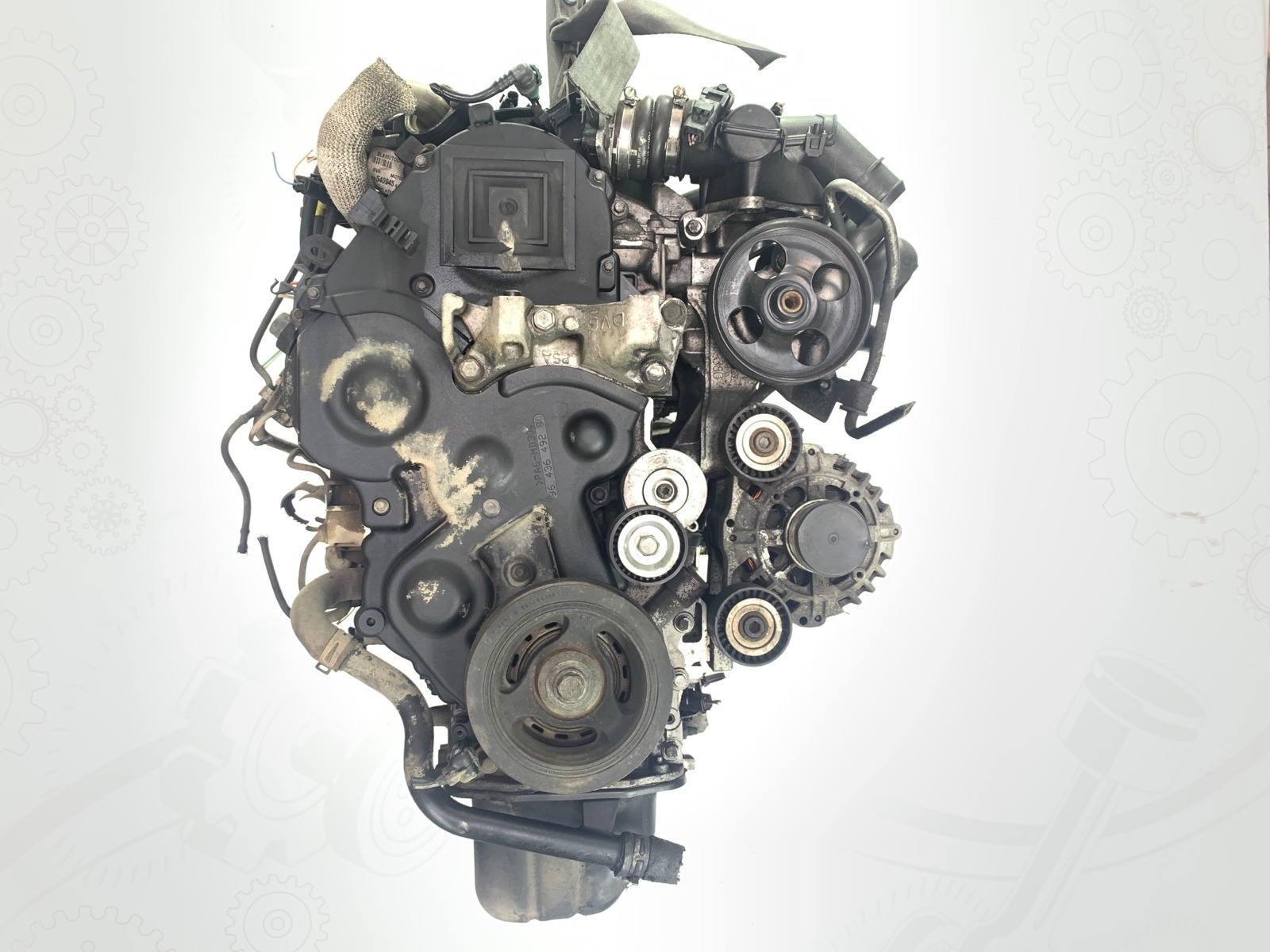 Двигатель Peugeot Partner 1.6 HDI 2008 (б/у)