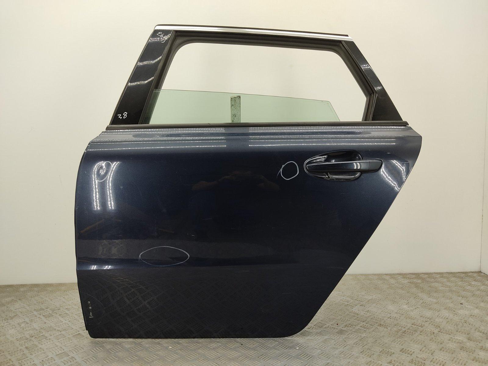 Дверь задняя левая Peugeot 508 1.6 HDI 2011 (б/у)