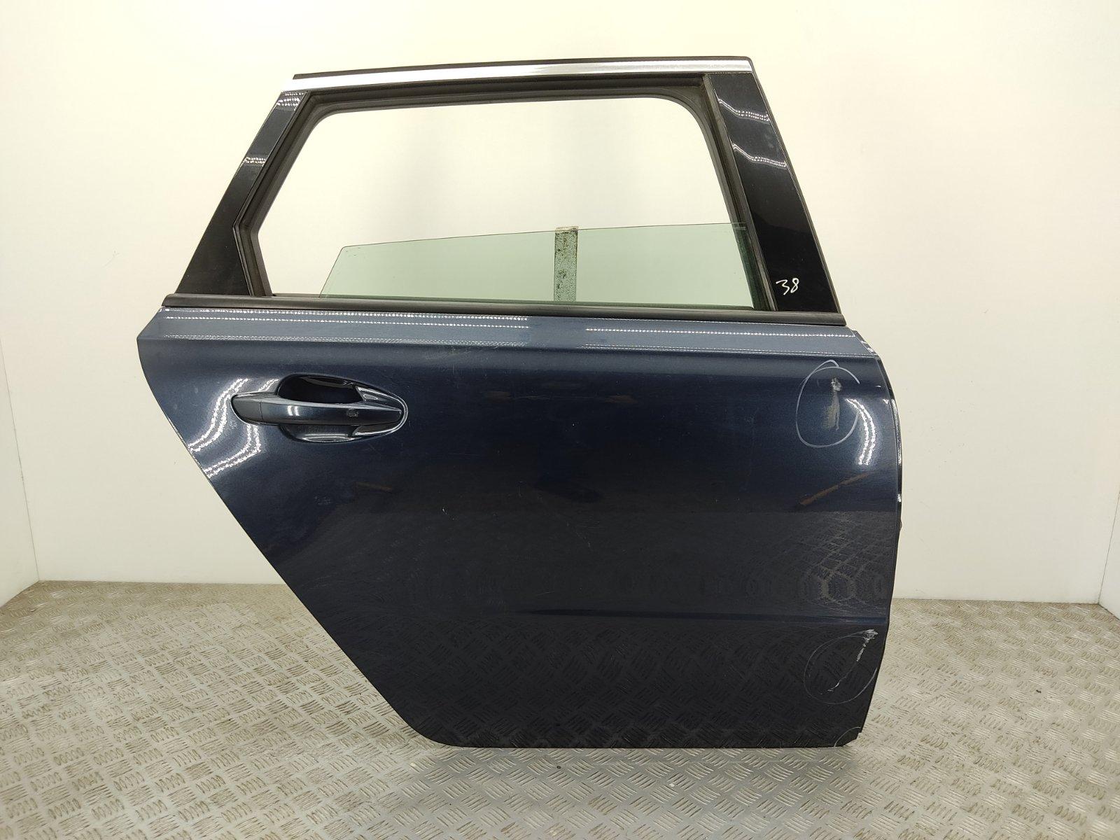 Дверь задняя правая Peugeot 508 1.6 HDI 2011 (б/у)