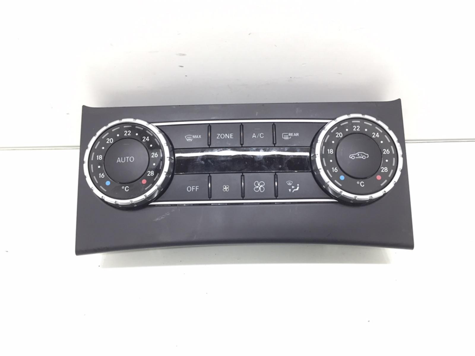Блок управления печки/климат-контроля Mercedes C W204 2.2 CDI 2012 (б/у)
