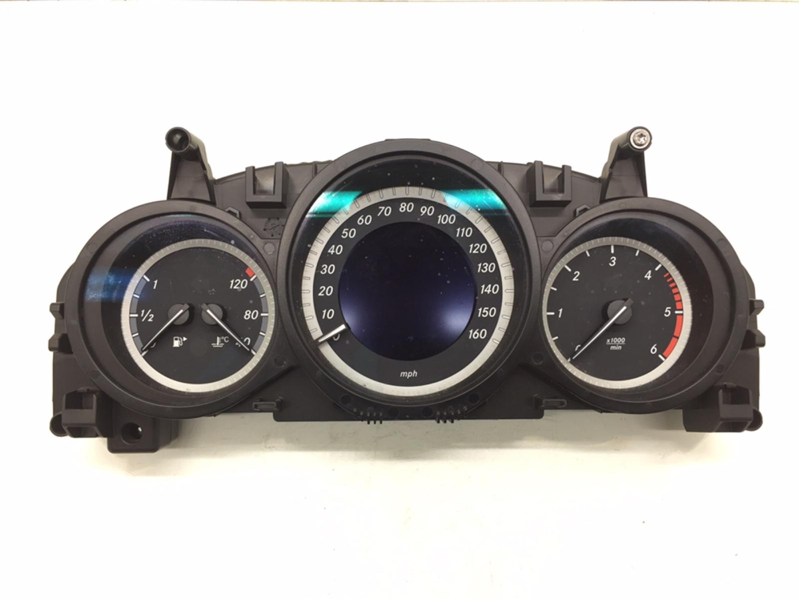 Щиток приборов (приборная панель) Mercedes C W204 2.2 CDI 2012 (б/у)