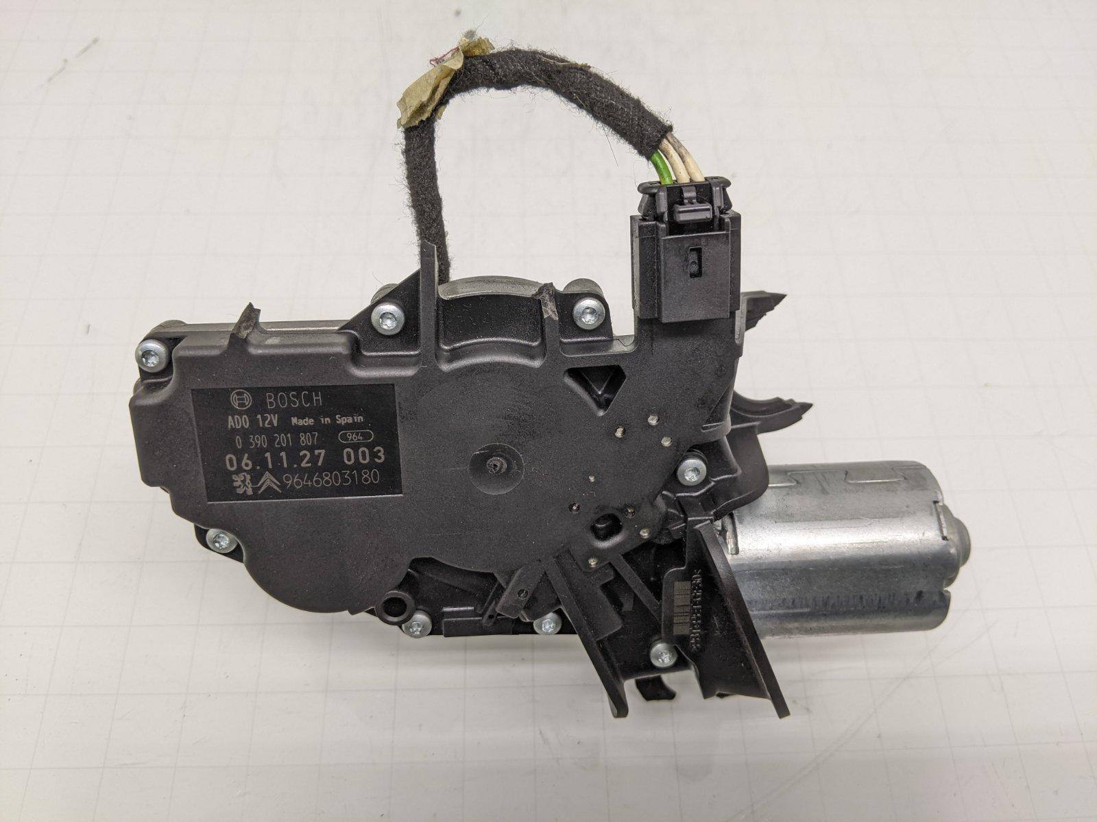 Моторчик заднего стеклоочистителя (дворника) Citroen C4 1.6 I 2006 (б/у)