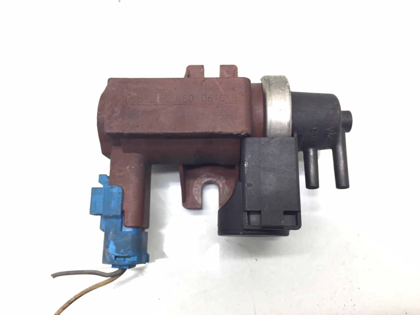 Клапан электромагнитный Peugeot 307 CC 2.0 HDI 2006 (б/у)