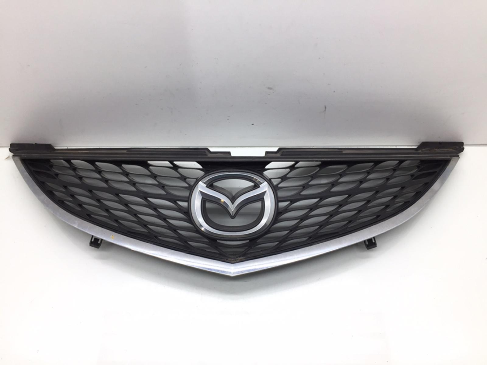 Решетка радиатора Mazda 6 2.0 TD 2008 (б/у)