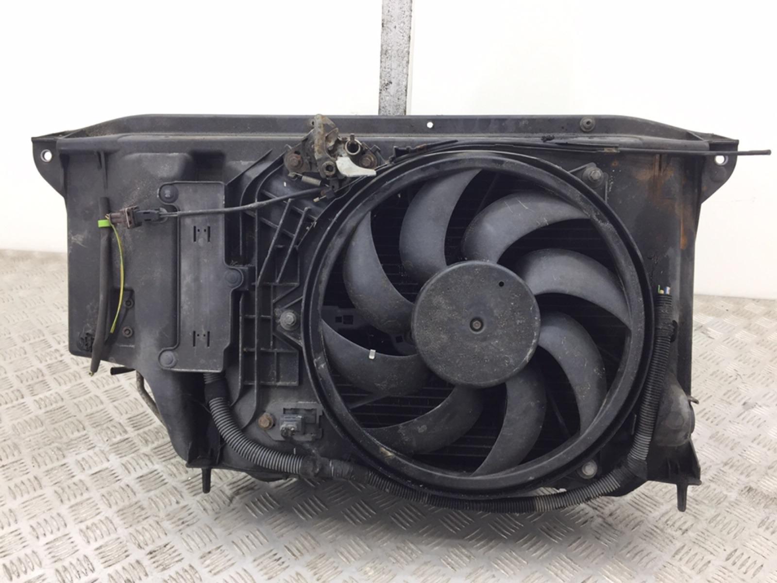 Кассета радиаторов Peugeot 206 CC 1.6 I 2005 (б/у)