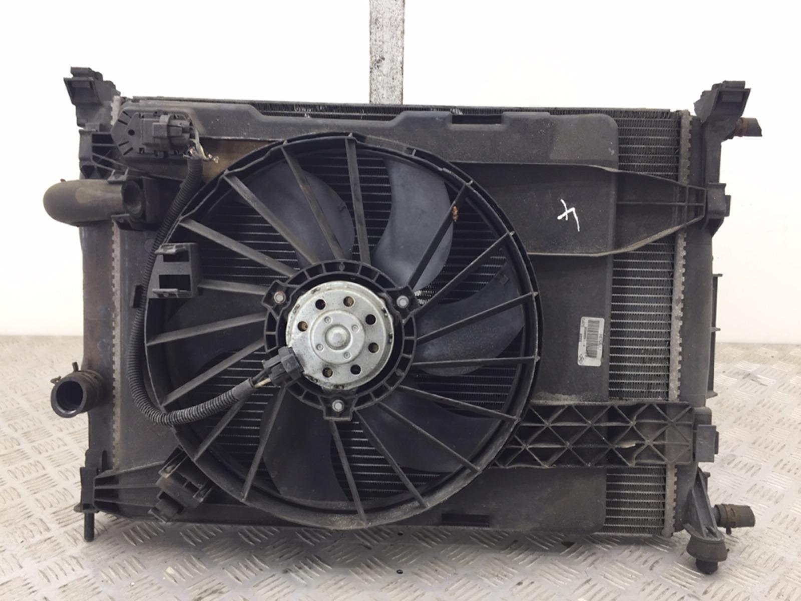 Кассета радиаторов Renault Scenic 1.5 DCI 2008 (б/у)
