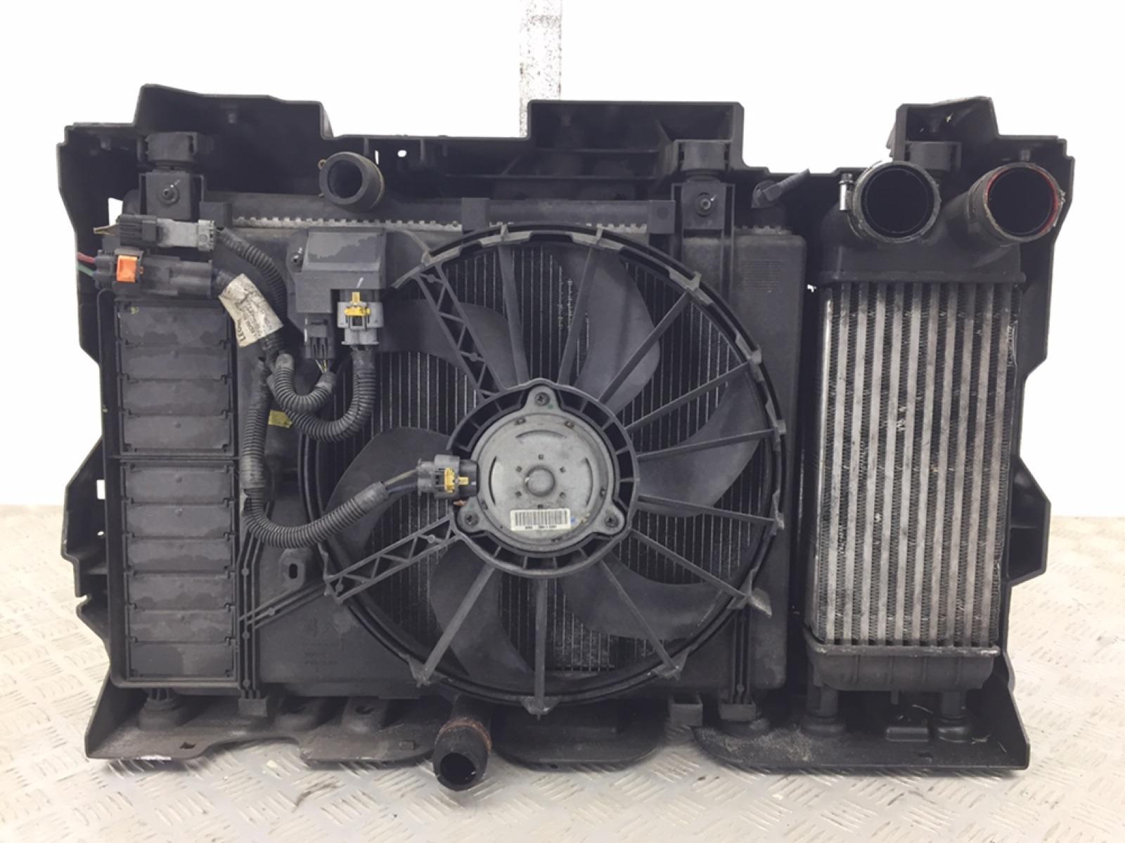 Кассета радиаторов Peugeot 508 1.6 HDI 2011 (б/у)