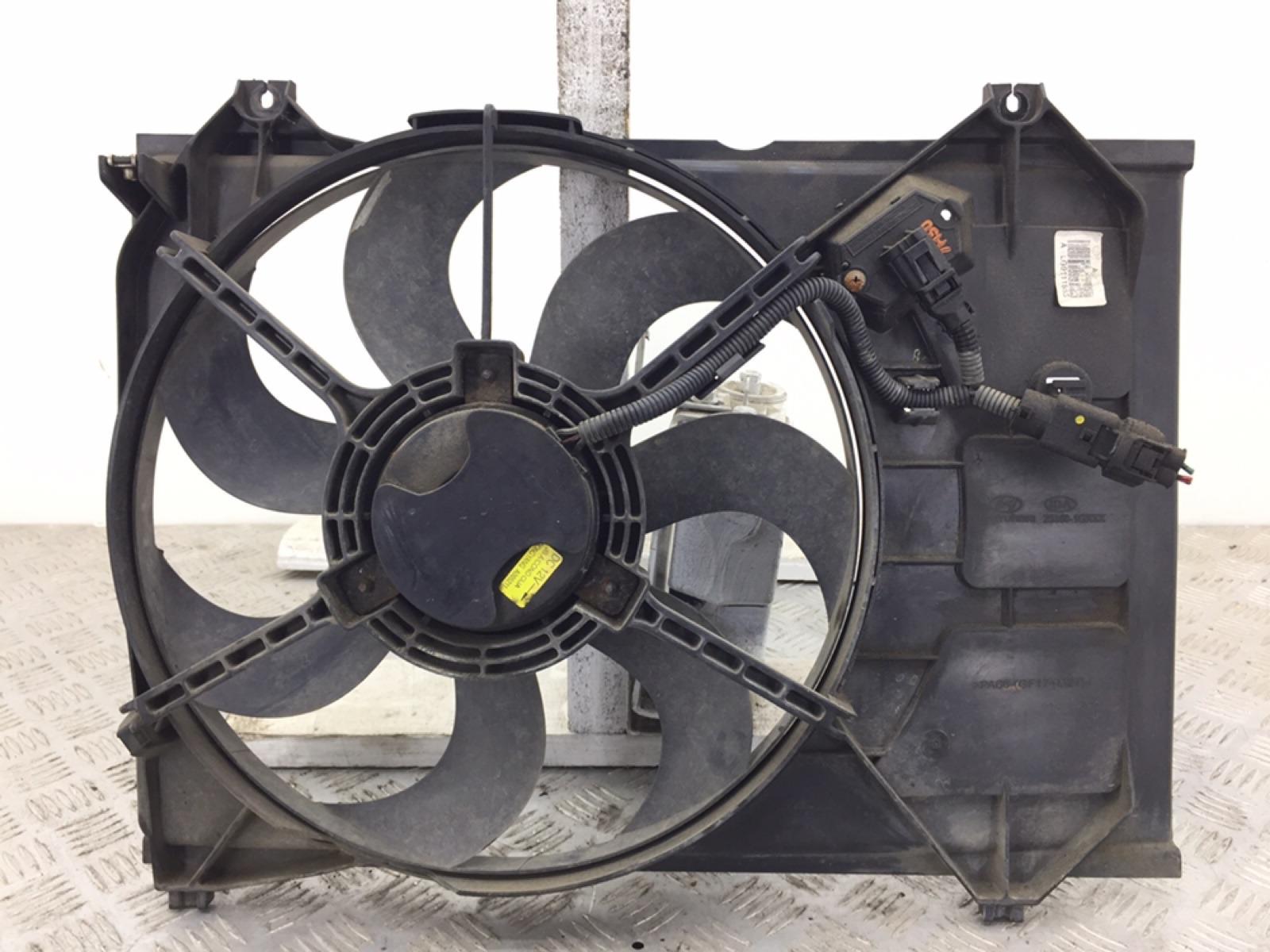 Вентилятор радиатора Kia Rio 1.5 CRDI 2008 (б/у)