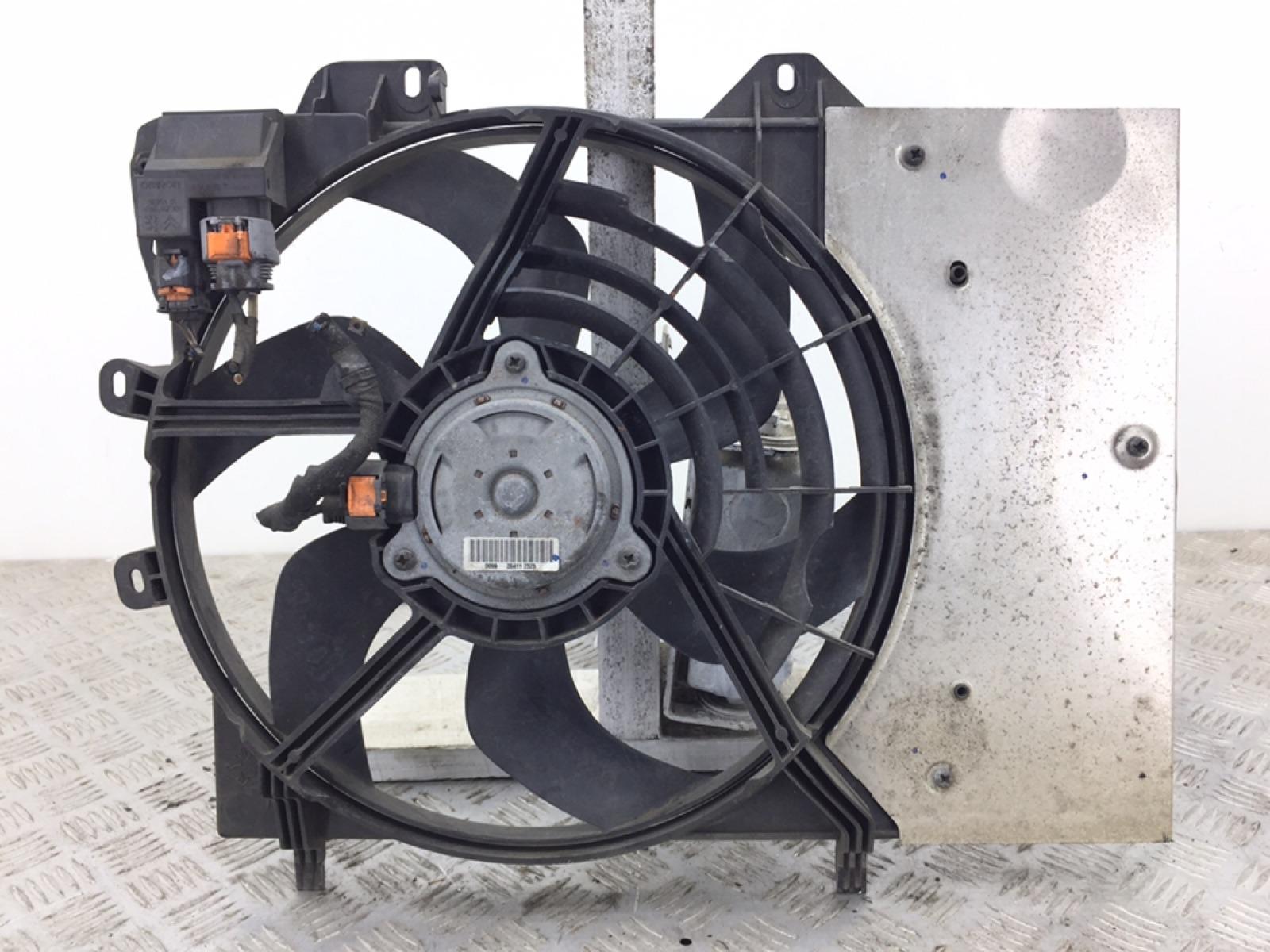 Вентилятор радиатора Peugeot 207 1.6 HDI 2011 (б/у)