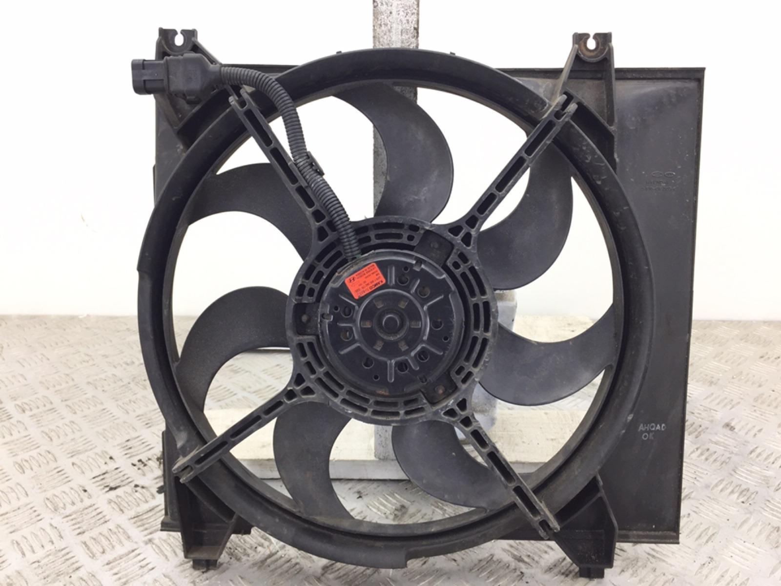 Вентилятор радиатора Hyundai Santa Fe 2.0 CRDI 2006 (б/у)