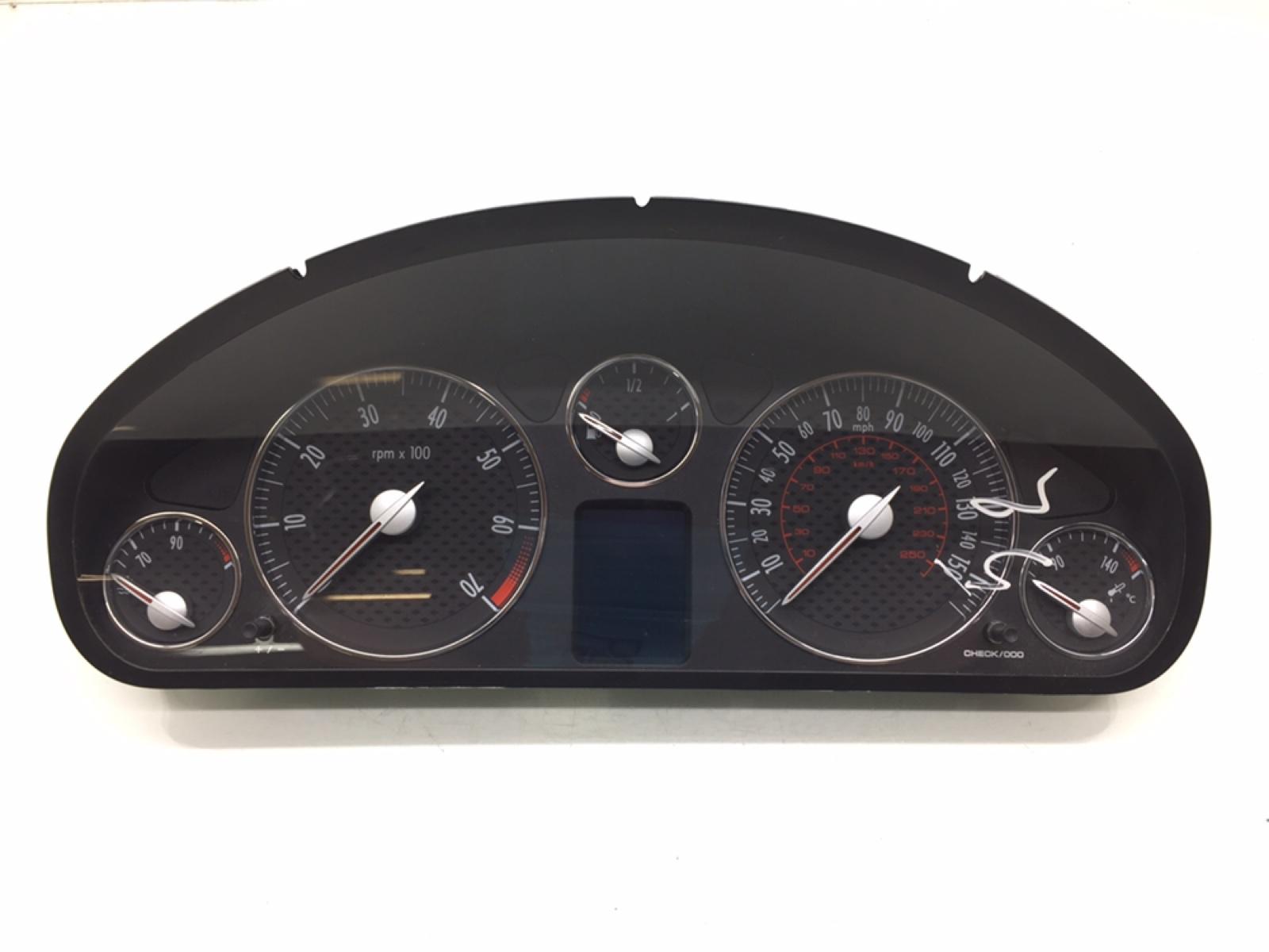 Щиток приборов (приборная панель) Peugeot 407 COUPE 2.2 I 2006 (б/у)