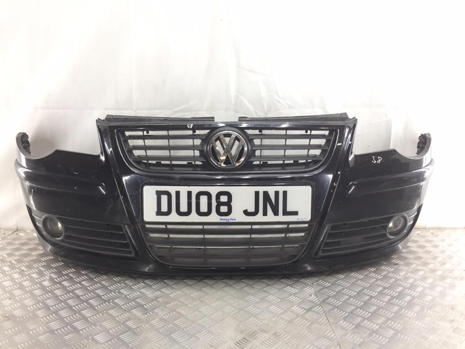 Бампер передний Volkswagen Polo 1.4 TDI 2008 (б/у)
