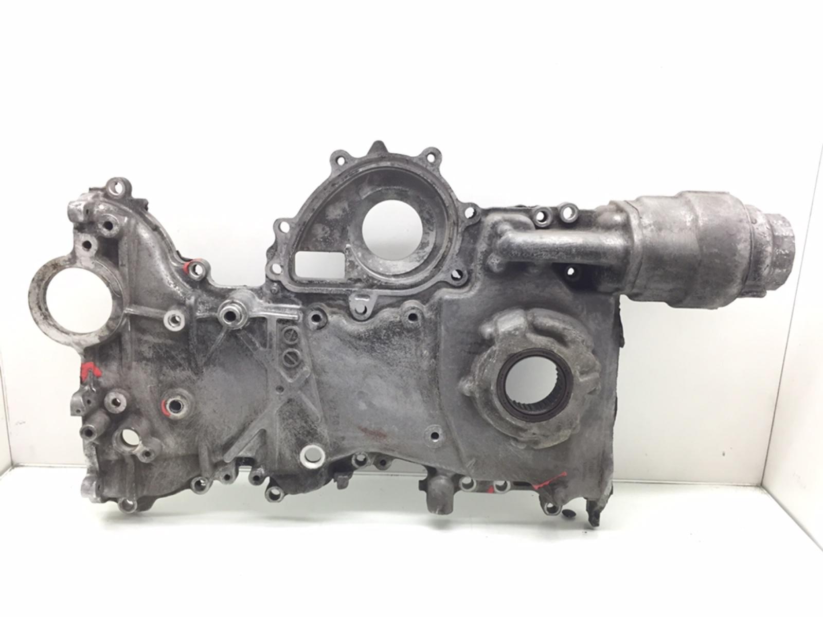 Крышка двигателя передняя Toyota Avensis 2.2 D-4D 2006 (б/у)