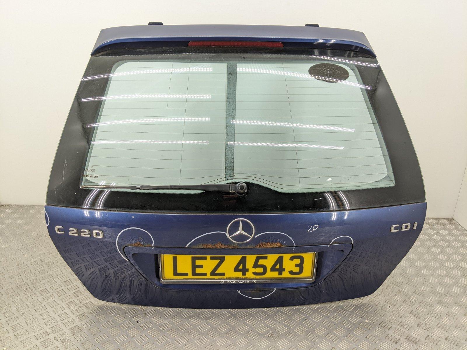 Крышка багажника Mercedes C W203 2.2 CDI 2003 (б/у)