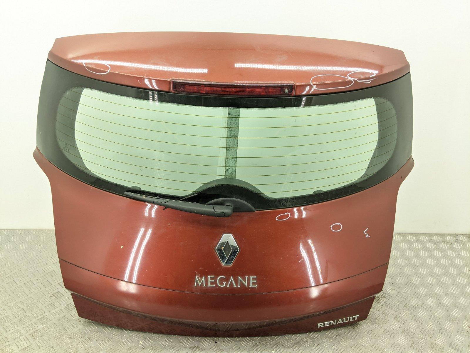 Крышка багажника Renault Megane 1.4 I 2007 (б/у)