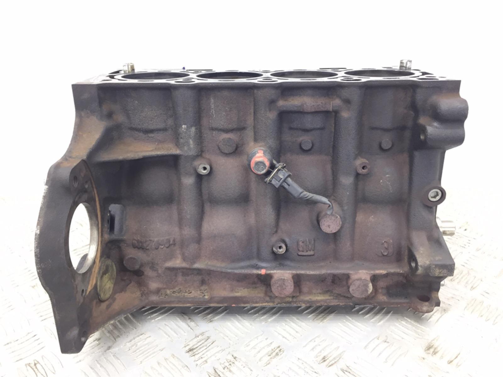 Блок цилиндров Chevrolet Aveo T250 1.4 I 2010 (б/у)