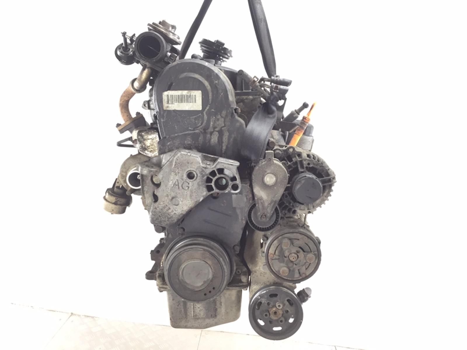 Двигатель Volkswagen Golf 4 1.9 TDI 2002 (б/у)