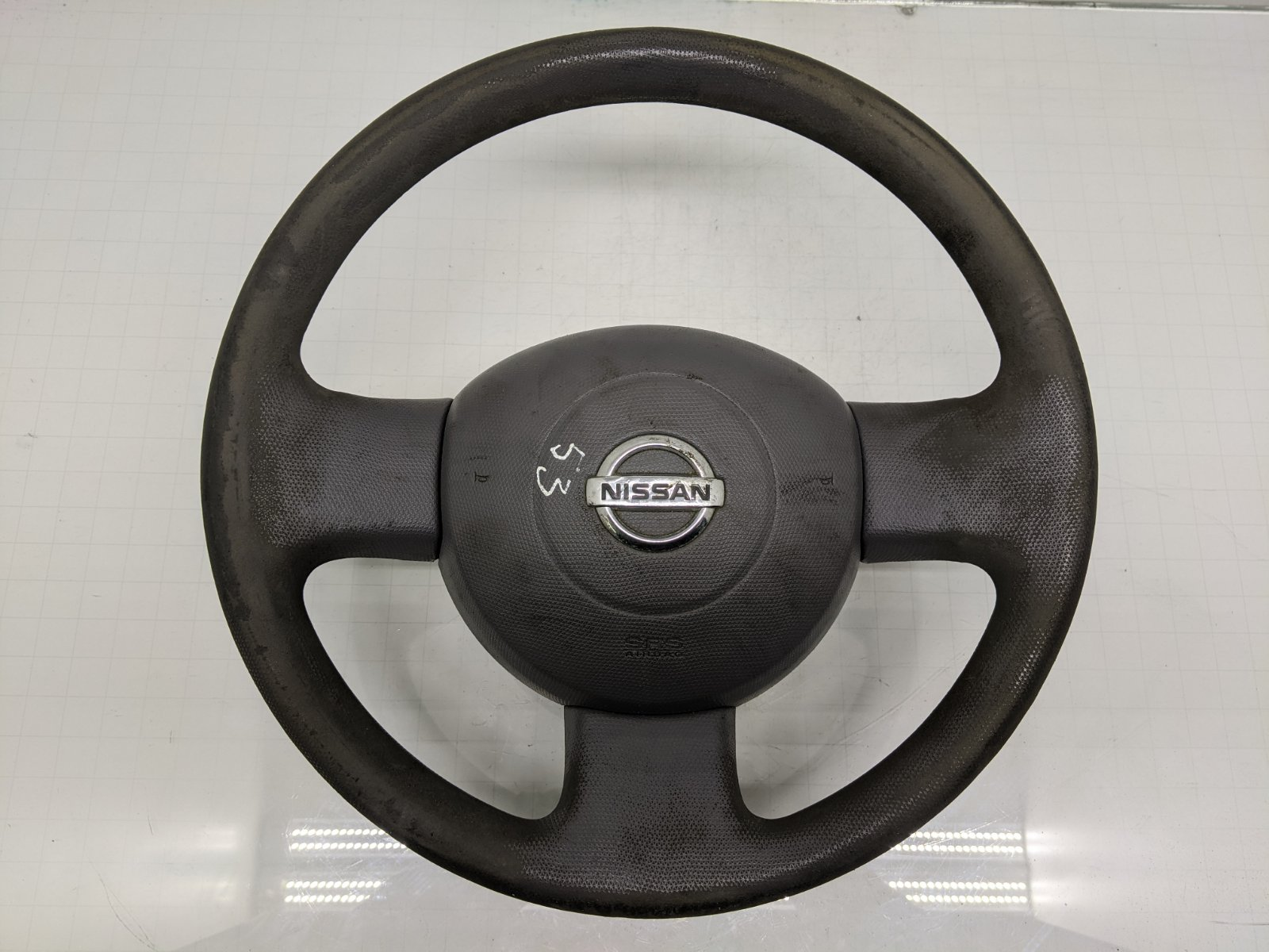 Руль Nissan Micra K12 1.5 DCI 2003 (б/у)