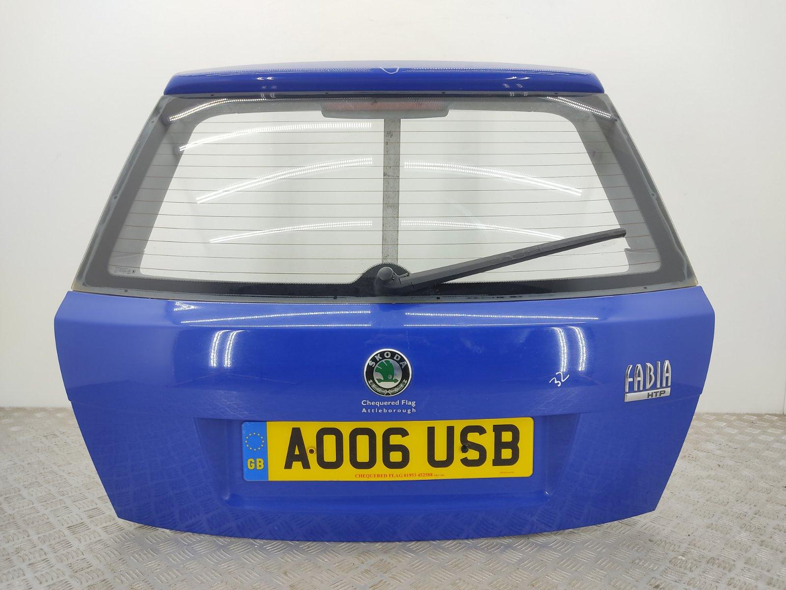 Крышка багажника Skoda Fabia 1.2 I 2006 (б/у)