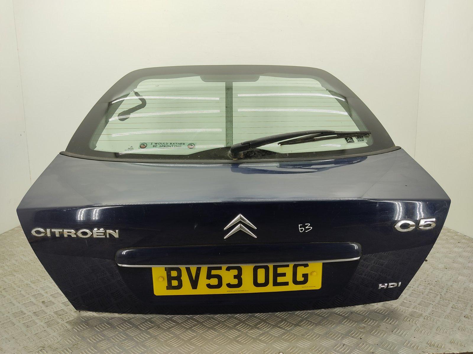 Крышка багажника Citroen C5 2.0 HDI 2003 (б/у)