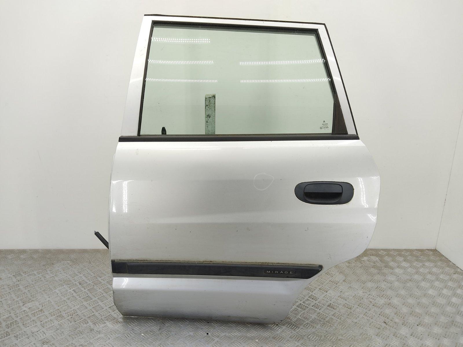 Дверь задняя левая Mitsubishi Space Star 1.9 DID 2002 (б/у)