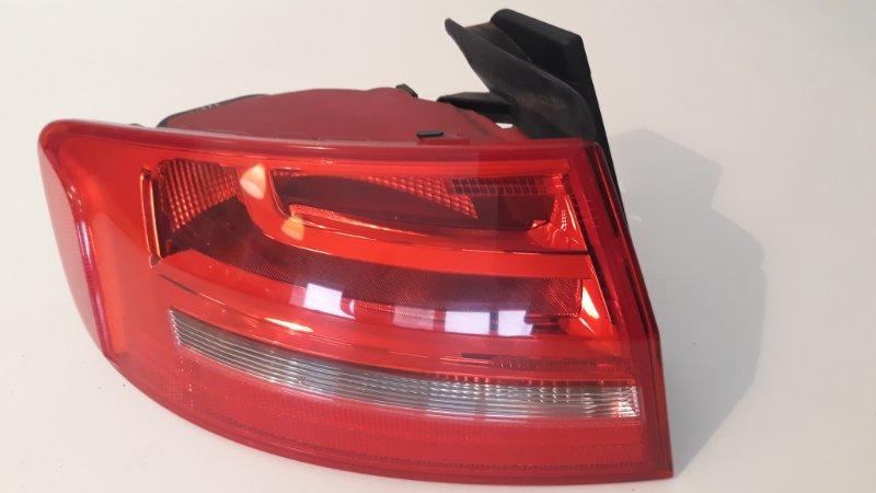 Фонарь наружный Audi A4 B8 2012 задний левый (б/у)