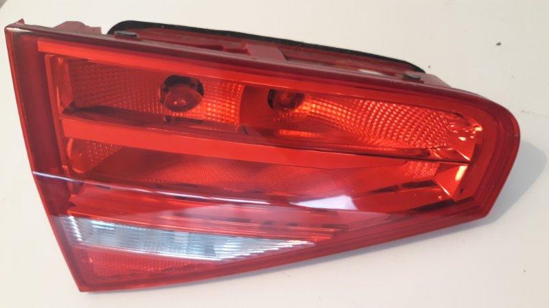 Фонарь внутренний Audi A4 B8 2012 задний правый (б/у)