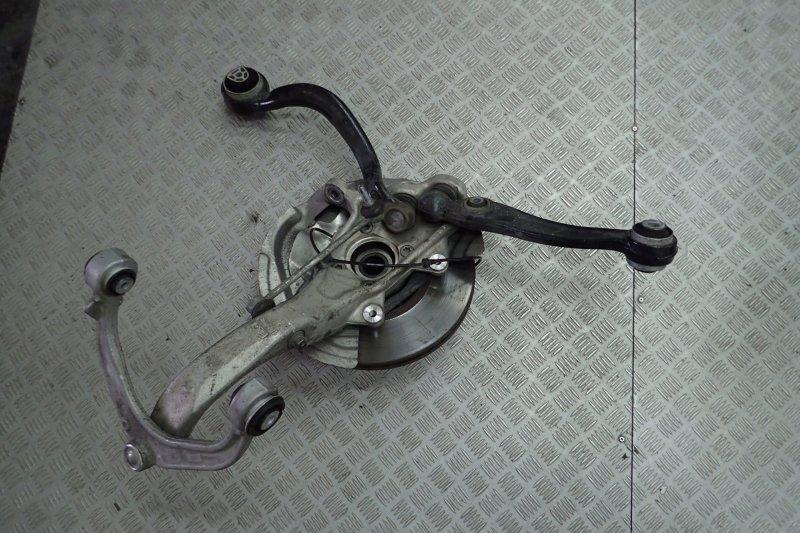 Поворотный кулак Bmw X5 F15 передний левый (б/у)