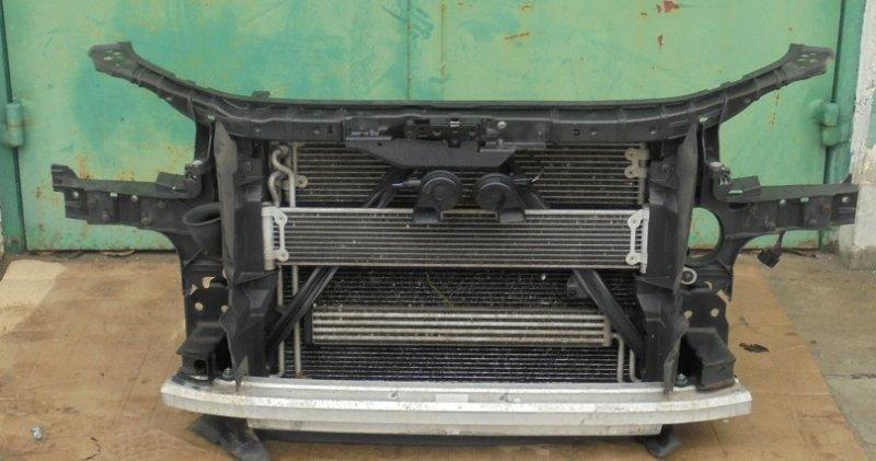 Телевизор с радиаторами Audi Q7 4L 2013 передний (б/у)