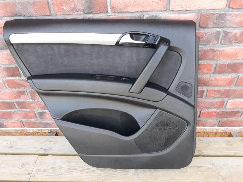 Обшивка двери Audi Q7 4L 2013 задняя левая (б/у)