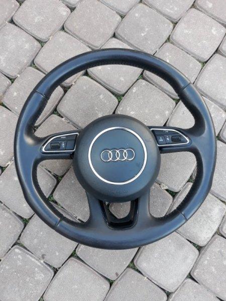 Руль Audi Q7 4L 2013 (б/у)