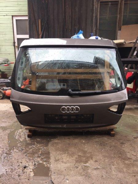 Крышка багажника Audi A4 B8 CJC 2013 задняя (б/у)