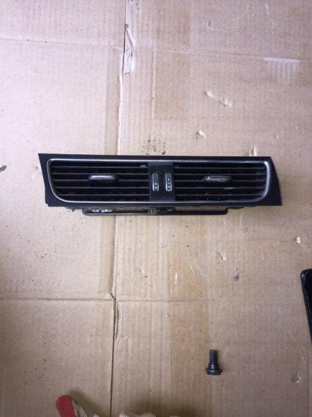 Воздушный дефлектор Audi A4 B8 CJC 2013 передний (б/у)
