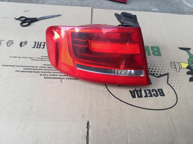 Фонарь наружный Audi A4 B8 2010 задний левый (б/у)