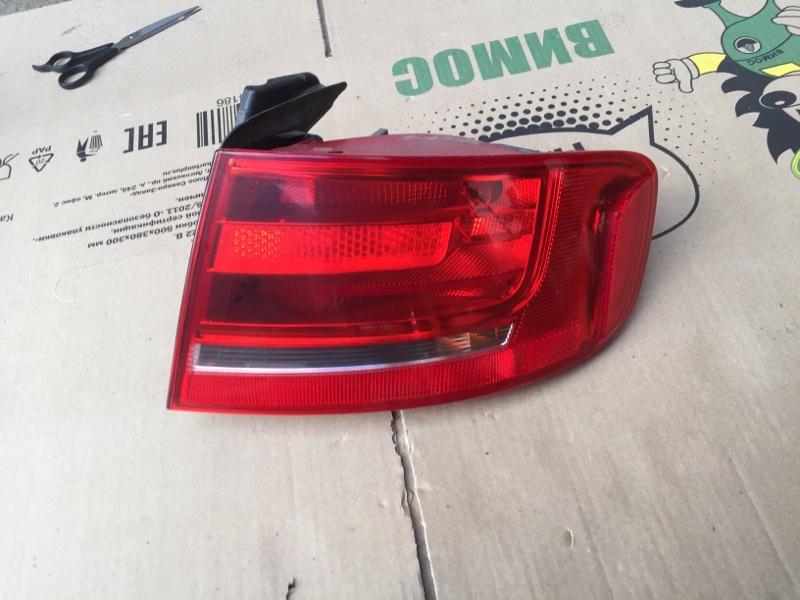 Фонарь наружный Audi A4 B8 2010 задний правый (б/у)