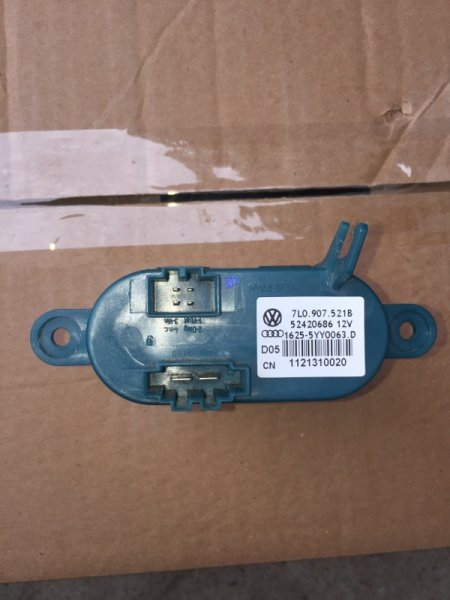 Резистор отопителя Audi Q7 4L 2014 (б/у)
