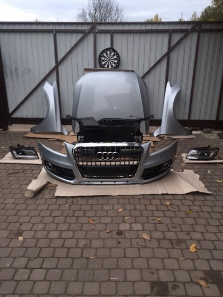 Ноускат Audi Q5 8R 2015 передний (б/у)